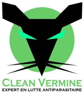 Logo de Clean Vermine spécialiste désinfection de cafards
